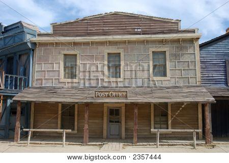 Postamt In einem American-Altstadt
