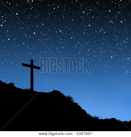 Cross With Stars