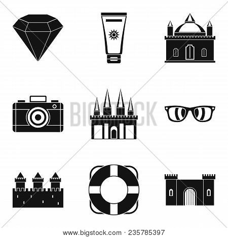 Money Value Icons Set. Simple Set Of 9 Money Value Vector Icons For Web Isolated On White Background
