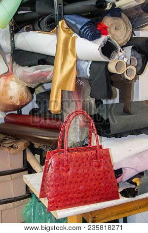Production Of Leather Handbags