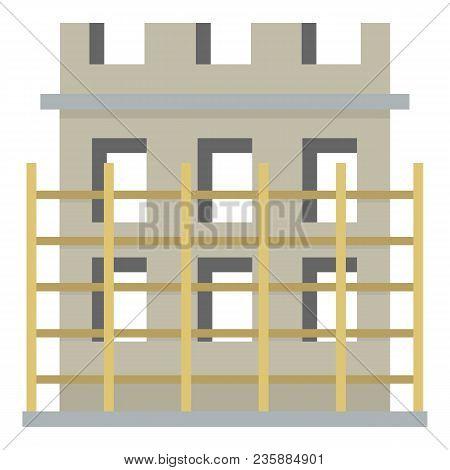 Construction Material Icon. Flat Illustration Of Construction Material Vector Icon For Web