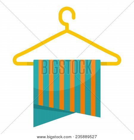 Hanger Icon. Flat Illustration Of Hanger Vector Icon For Web