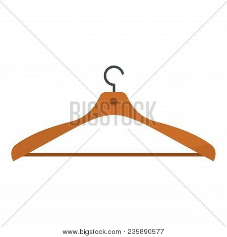 Wear Hanger Icon. Flat Illustration Of Wear Hanger Vector Icon For Web