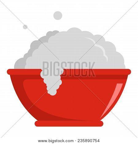 Washing Basin Icon. Flat Illustration Of Washing Basin Vector Icon For Web