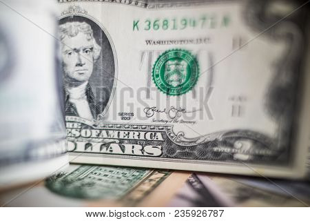 U.s. Dollars Banknotes Of The United States Of America