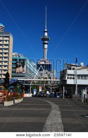 Auckland city center, New Zealand