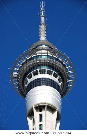 skytower in blue sky