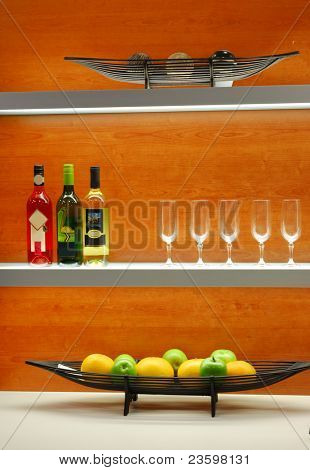 elegant kitchen decoration