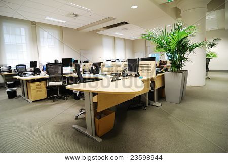 office work place