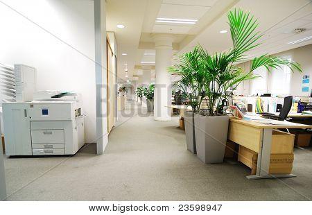 local de trabalho de escritório