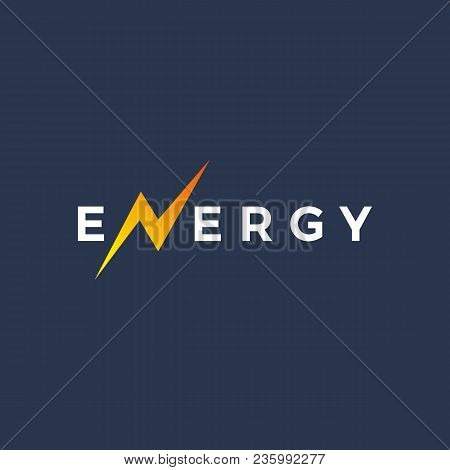 Letter N Energy Logo Icon Design Template Elements