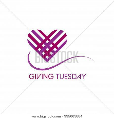 Special Day. Giving Tuesday Banner Design. Giving
