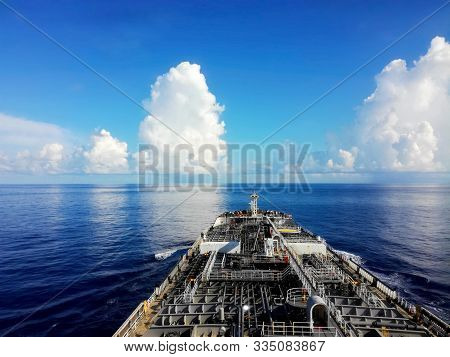 Tanker (tank Ship Or Tankship) Ship Designed To Transport Or Store Liquids Or Gases In Bulk. Types O