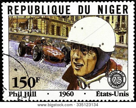 11 14 2019 Divnoe Stavropol Territory Russia Postage Stamp Of The Republic Of Niger 1981 Series 75 Y