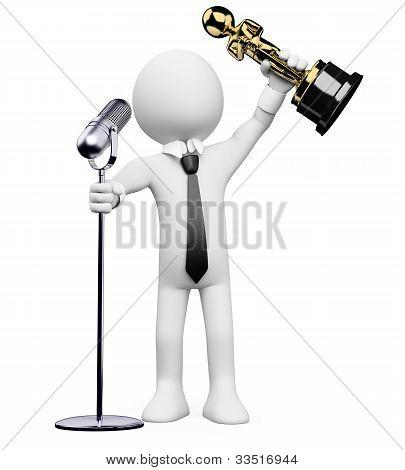 3D White People. Oscar