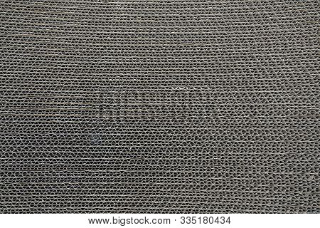 Brown Cat Scratcher, Abstract Horizontal Background Pattern