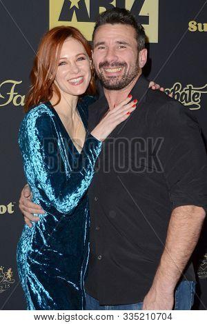LOS ANGELES - NOV 20:  Maitland Ward, Manuel Ferrara  at the XBIZ Nominations Gala at the W Hollywood Hotel on November 20, 2019 in Los Angeles, CA