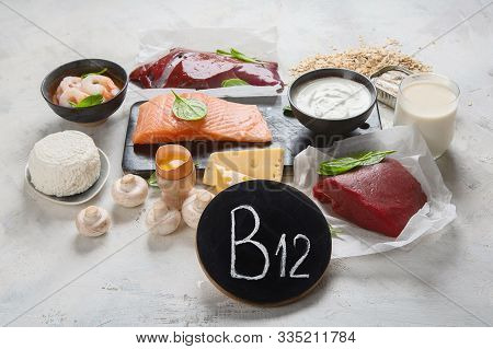 Natural Sources Of Vitamin B12 (cobalamin)