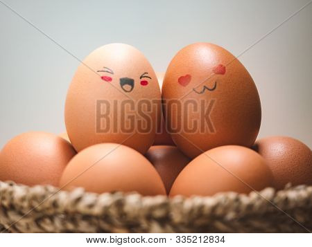Egg Lovers Have Happy Faces