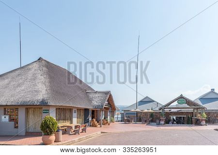 Machadodorp, South Africa - May 22, 2019: Millys Country Trout Stall And Millys Restaurant Near Mach