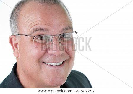 Headshot Emotional Male Man Senior