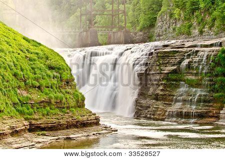 Upper Waterfalls - Letchworth State Park