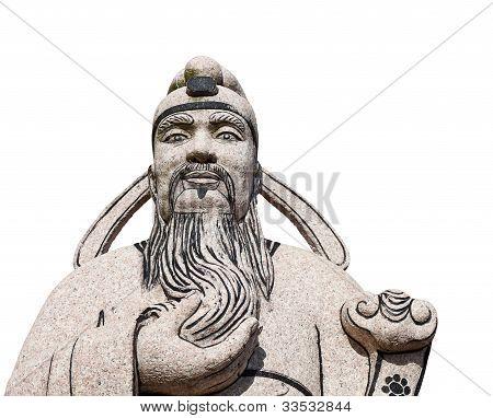 Ancientchinese Man Statue