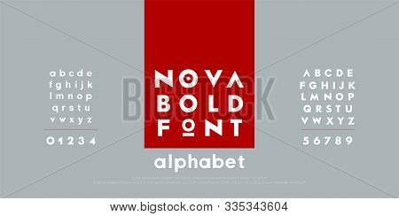 Abstract Fashion Modern Alphabet Fonts. Typography Technology Electronic Urban Music Future Creative
