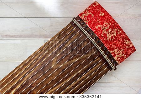 Koto,japanese Harp,japanese Traditional Instrument .it Called Ko To In Japanese.