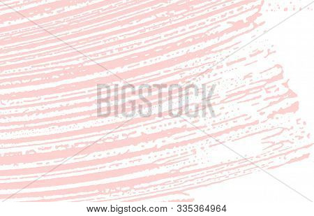 Grunge Texture. Distress Pink Rough Trace. Fetching Background. Noise Dirty Grunge Texture. Posh Art