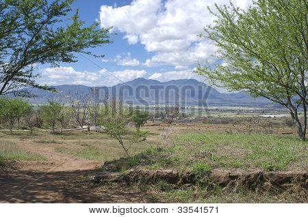 Teuchitlan And Mountains