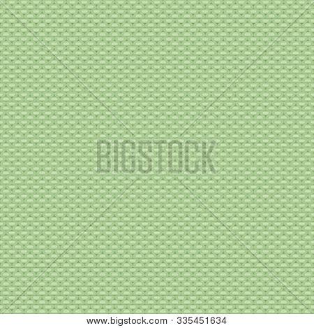 Seamless Purl Stitch Knit Light Green Pattern. Christmas Backgroung
