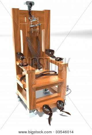 New Wooden Electric Chair
