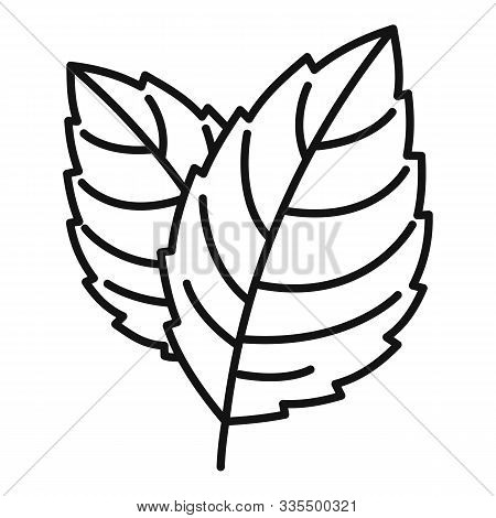 Peppermint Icon. Outline Peppermint Vector Icon For Web Design Isolated On White Background