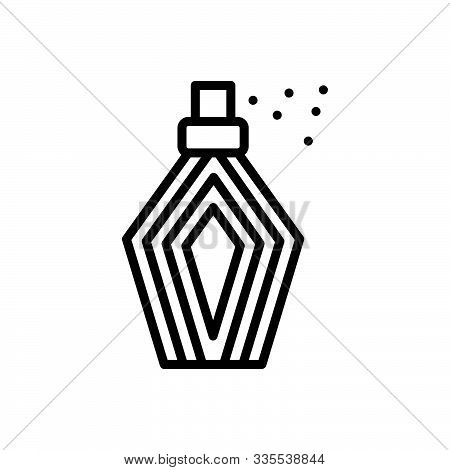 Black Line Icon For  Perfumes  Fragrance  Cosmetic Scent