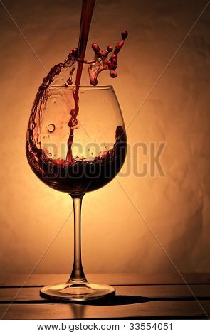 Elegant  Wineglass