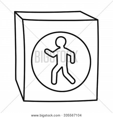 Isolated Object Of Stoplight And Signal Logo. Web Element Of Stoplight And Svetofor Stock Vector Ill