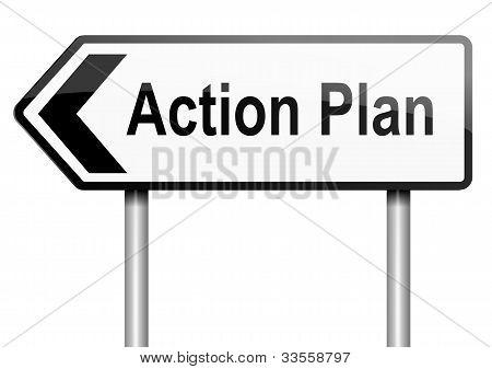 Action Plan Concept.