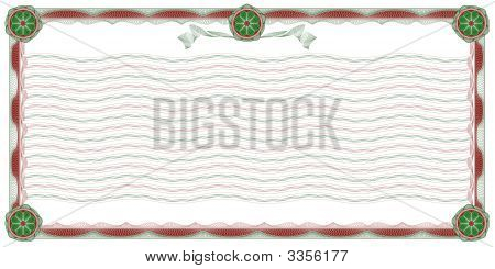 Guilloche: Ornamental Border And Background