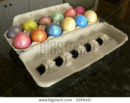 Colored Easter Eggs6