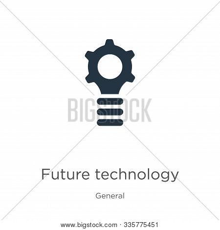 Future Technology Icon Vector. Trendy Flat Future Technology Icon From General Collection Isolated O
