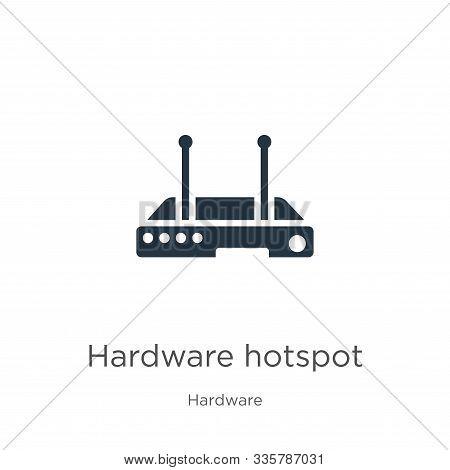 Hardware Hotspot Icon Vector. Trendy Flat Hardware Hotspot Icon From Hardware Collection Isolated On