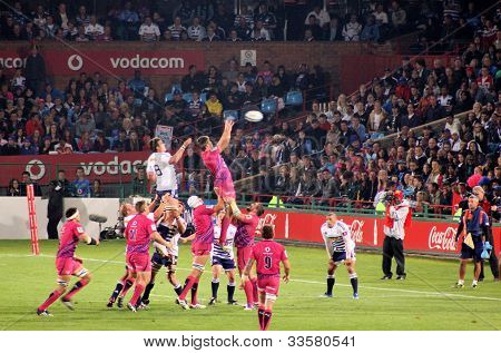 Rugby Bulls Lineout South Africa 2012