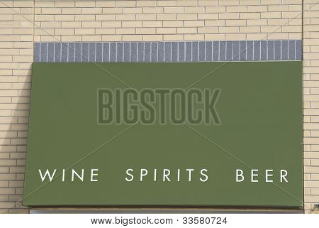 Wine Spirits And Beer