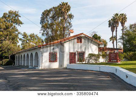 San Diego, California/usa - March 31, 2018:  Santa Margarita Ranch House On Marine Corps Base Camp P