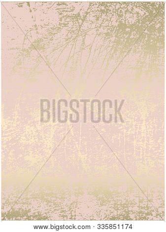 Chic Blush Pink Gold Trendy Marble Grunge Texture
