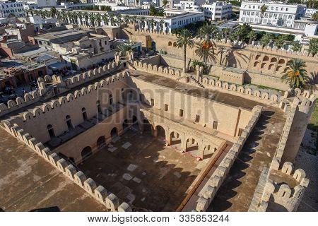 Le Ribat Castle On The Medina Of Sousse In Tunisia