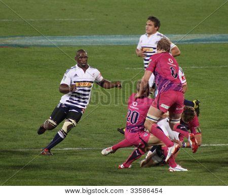 Rugby Siya Kolisi Stormers South Africa 2012