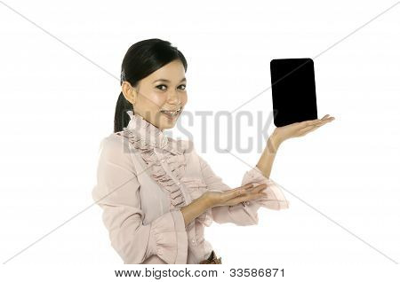 Blank Touch Screen Computer