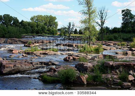 River rapids in South Dakota